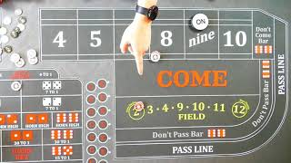 Good Craps Strategy?  An Iron Cross Variant, real world player