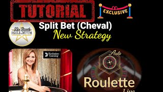 Tutorial – Split Bet (Cheval)   New Strategy   #Roulette #RouletteStar #OnlineCasino