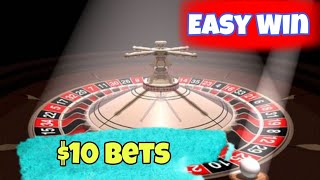 Easy Win $10 Per Spin    Roulette Strategy To Win    Roulette Pro