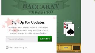 Baccarat Strategy Play Less Make More