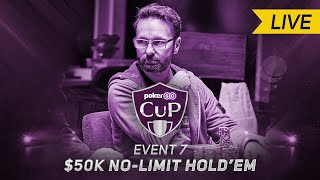 Daniel Negreanu Headlines STACKED $50,000 No Limit Hold'em Final Table