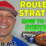 Best Roulette Strategy- Christopher Mitchell Tells How To Play Roulette & Win Everyday.