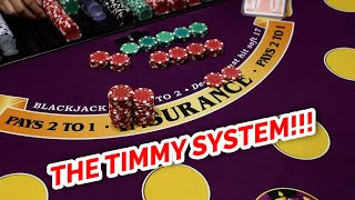 """BEST SYSTEM EVER – """"The Timmy"""" Blackjack System Review"""
