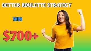Better roulette strategy