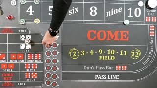 Craps Strategy, the mid press deep dive 4 and 10