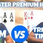 Pocket Aces vs. Ace King plus 7 MORE MONSTER PREMIUM HANDS