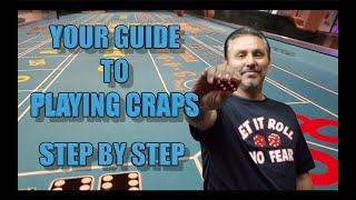 How to play craps – step by step guide to playing craps – Craps for beginners