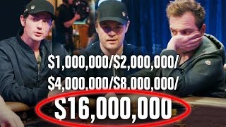 BIGGEST Poker Cash Game In TV History?? (Extremely High Stakes)