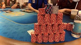 10 MOST INSANE Poker Hands | Texas Holdem Poker Vlog | Close 2 Broke Episode. 25
