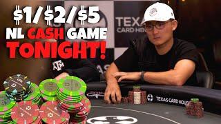$1/$2/$5 NL Hold 'Em Cash Game | TCHLive Poker Stream