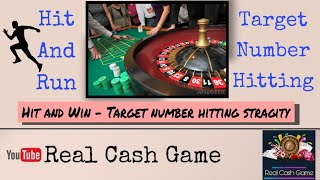 Target Number Hit||Lighting Roulette Live|| Hitting number strategy