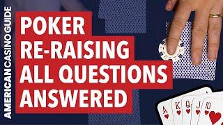 Poker Re-Raising Made Simple (Poker Tips!)