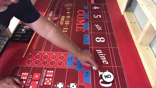 Garrison Russell craps strategy   Platinum craps and dice setting
