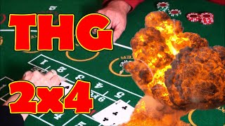 THE HOLY GRAIL 2×4 | PROFIT | GRAND MARTINGALE – Baccarat Strategy Review