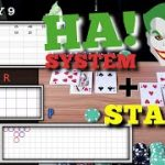 DAY 9 ♠ HA System + Small Road!!   STAR SURVIVAL Baccarat Series
