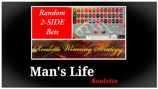 ROULETTE winning Strategy. online gaming bak roll management