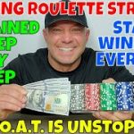 Winning Roulette Strategy- Christopher Mitchell Gives Million Dollar Info & Explains Step By Step.