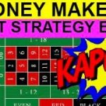 ROULETTE STRATEGY THAT WINS EVERY TIME