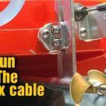 Blackjack 24 flexcable, Strut, & Stuffing Tube Install – RC Boat Build Tips