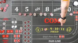 Good craps strategy?  An alternative to the Iron Cross