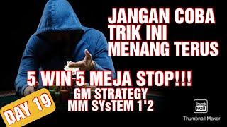 Baccarat Bisa Bikin Kaya ? GM Strategy , MM SYstem 1'2 | Baccarat Winning Startegy