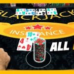 GOING ALL IN! ALL OR NOTHING   $300 Buy In Blackjack Session