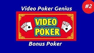 Video Poker Genius [Part 2] – Bonus Poker
