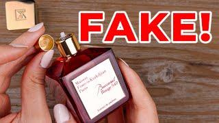 FAKE fragrance Baccarat Rouge 540 DON'T GET SCAMMED (Looks Like $393 Original)