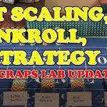 Craps Bet Scaling, Bankroll, & Strategy