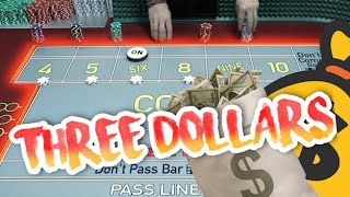 THREE DOLLAR CRAPS BASIC – How to Play & How to Press