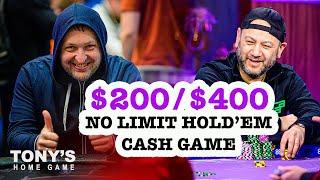Tony G's Home Game   $1000/$2000 Texas Hold'em/Pot Limit Omaha Cash Game