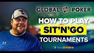 HOW TO PLAY ONLINE POKER – SIT'N'GO TOURNAMENTS