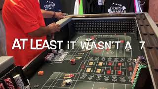 Craps Hawaii — L👀K the EZ $75 is on a DIET a FIT for a LOW ROLLER (Session 1 of 3)
