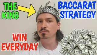 Best Baccarat Strategy – Professional Gambler Tells How To Win Everyday