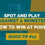 How to Win at Texas Hold'em   Poker Tip #17   How to Spot a Monster