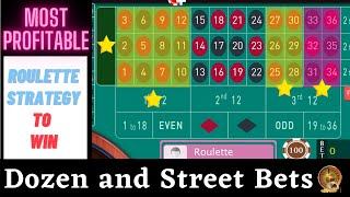 Best Roulette Strategy to Win   Dozen Bets and Line Bets On Roulette   Latest Roulette Tricks 2020