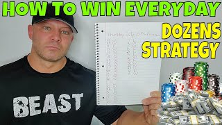 Roulette Strategy (Dozens)- Christopher Mitchell Tells How To Play Roulette & Win Everyday.