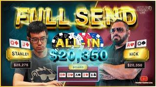 Billionaire DoorDash Founder BLUFFS ALL-IN in High Stakes Poker
