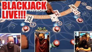 GAMBLE WITH FANS – LIVE BLACKJACKAT STRAT LAS VEGAS #1