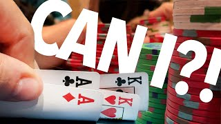 4 LOSSES IN A ROW!!.. DOES THE DOWNSWING CONTINUE?! // Texas Holdem Poker Vlog 71