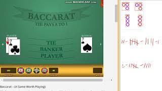 Baccarat – Safe strategy, $40 bankroll, Long playing – PART 2
