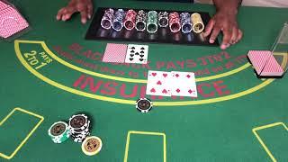 At-home blackjack session #19