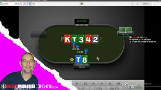 Playing 2nd pair weak kicker | Spin & Go Poker Strategy Video with coach Paul