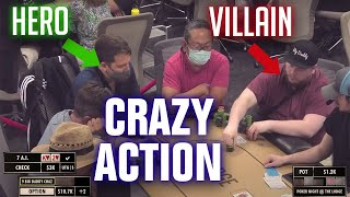 Is He VALUE BETTING or BLUFFING? A WILD Live Stream Poker BATTLE
