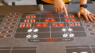 Good craps strategy?    Playing craps, prop bets and center action explained, part 2.