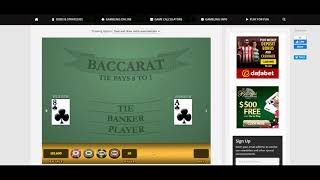 Banker-Only Paroli Baccarat Strategy Turning $10,000 into $23,900 Within 2 Minutes