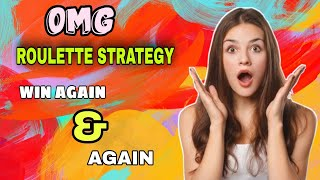 Finally i got it   Roulette win 100   Roulette strategy to win   Roulette channel gameplay