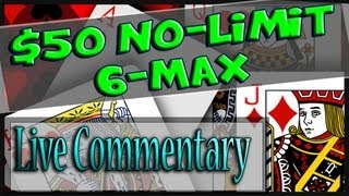 Sweat Session: 6-Max Cash No-Limit Hold'em Online Poker $50NL (Strategy/Coaching) Bovada #4