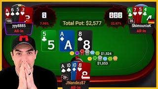 $2K PLO Poker Cash Games Highlights