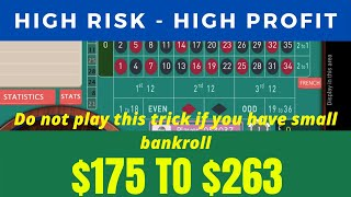 Crazzy Roulette Strategy to Win | High Risk High Profit | Win Roulette Always 2020
